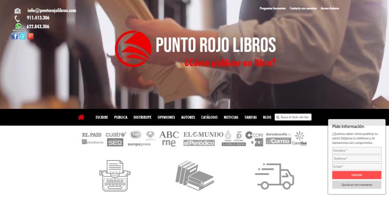 Web Punto Rojo Libros